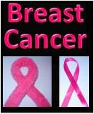 Breast Cancer picture created with Powerpoint & digital camera by DJ Lyons aka Debbie Dunn